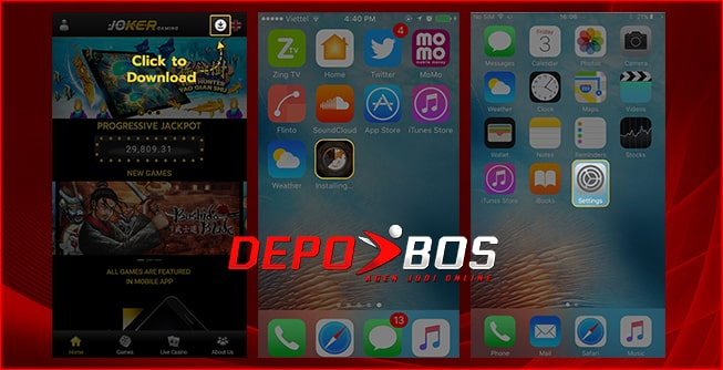 step download IOS joker288 pertama